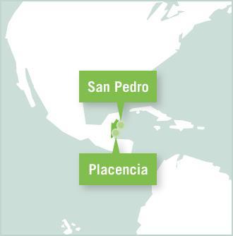 Map Belize