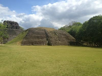 A scenic shot of Mayan Ruins in Belize