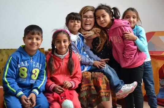 Care volunteer in Romania