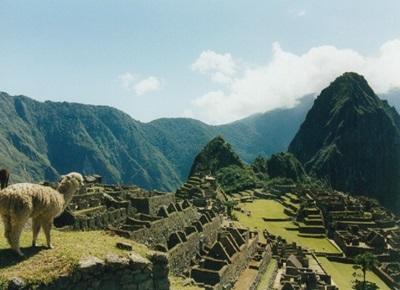 A scenic photo in Peru
