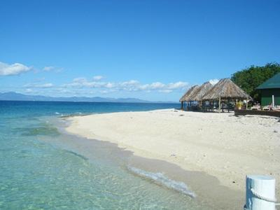 One of the beautiful beaches on the island of Fiji
