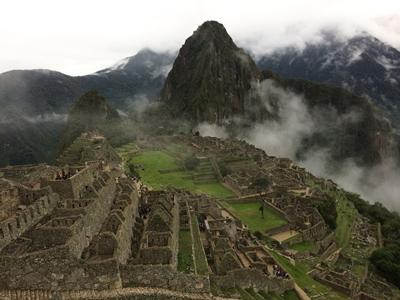 A weekend trip to Machu Picchu for Ashbury College volunteers