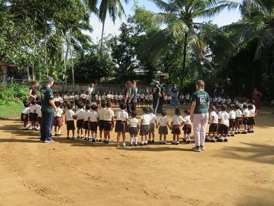 Children at the school