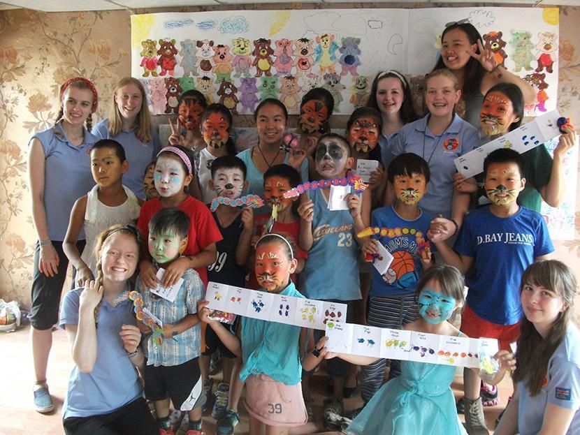 Warwickshire Girl Guides Mongolia