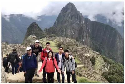 Before leaving, the group had some time to stop off in Cusco and visit Machu Picchu
