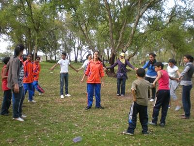 Overseas volunteer work with Children in Morocco