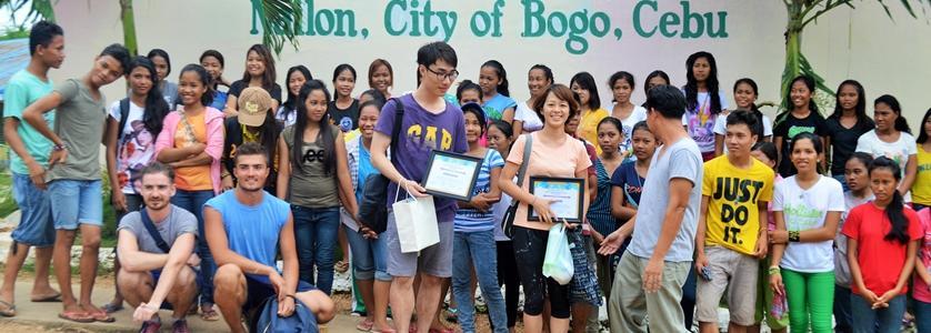 Overseas volunteer work in Philippines