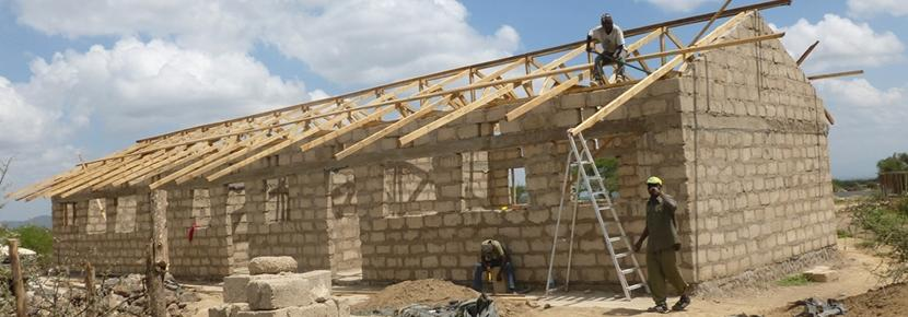 Local buildings continuing work on a new building for the community