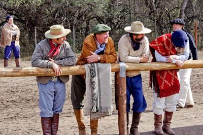 Some local Argentinian men enjoying a day at the ranch