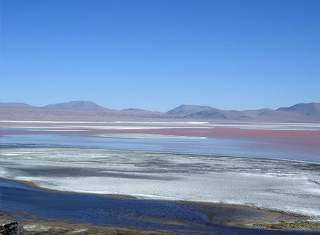 A scenic landscape in the Bolivian highlands