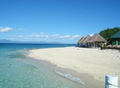 A beautiful beach in Fiji