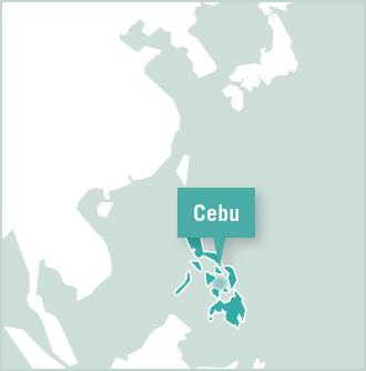 A map of the Philippines highlights Cebu