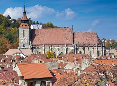 Beautiful examples of Romanian buildings