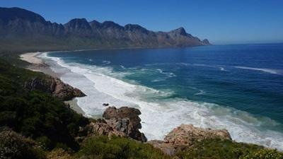 Scenic photo of a beach in South Africa